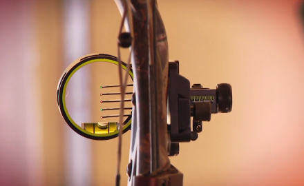 Many compound bow shooters like to cant their bow while shooting. Randy Ulmer shows you the proper