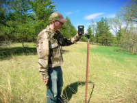 Trail Cam Positioning in Treeless Areas
