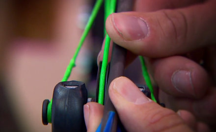 Levi Morgan shows you how to check your idler wheeling on your bow....and correct it if it's off.
