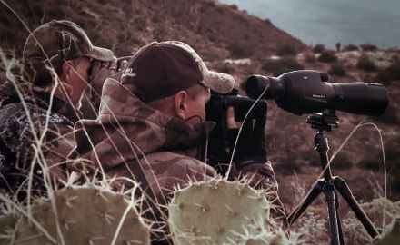 Editor Curt Wells offers a hunting tip relating to spotting and stalking in the desert.