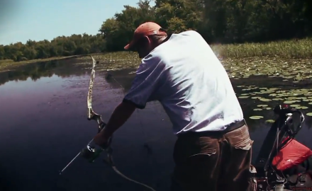 Bowfishing is a lot of fun!  Curt Wells helps get you set up for a successful experience.