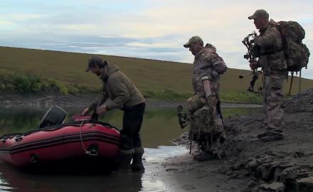 Arriving in Alaska for a Caribou Hunt