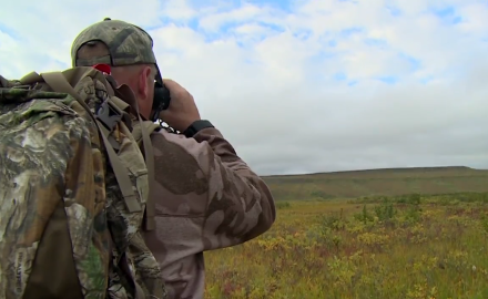 A Long Stalk on an Alaskan Caribou
