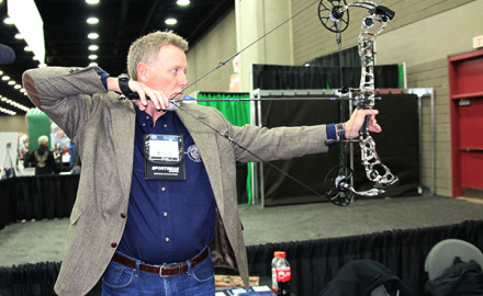 Mathews proudly featured the all-new Halon 6 at the 2016 ATA Show. Boasting an IBO speed rating
