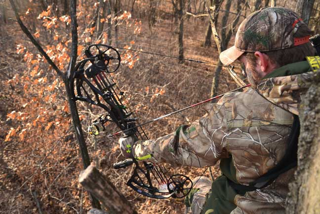how bowhunters can judge yardage