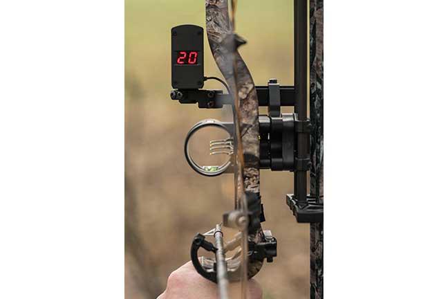 judge yardage with a bow mounted range finder