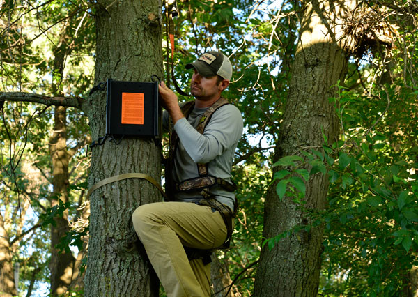 Hanging stand-mounting brackets at multiple sites provides you with more flexibility on where you want to hunt. Brackets prevent your stands from being stolen because when you're not there, the stand's not there.