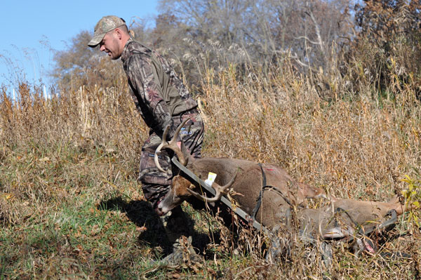A treestand strategy that allows you to quietly hunt multiple hotspots, including those that are littered with fresh sign, is a great way to arrow a mature buck.