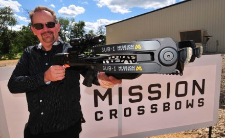 Mission Crossbows today unveiled its innovative new SUB-1, a shooting platform the company created