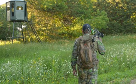 Take a page out of the rifle hunters book and wait on a whitetail in comfort.  There are quite a