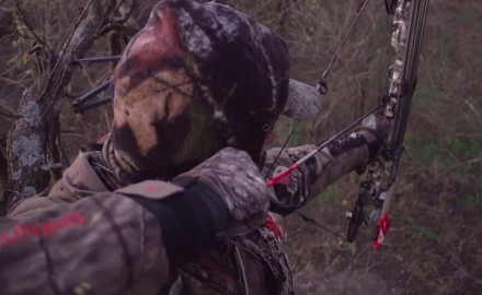 Curt Wells is tempted by a number of whitetails while holding out for a bigger buck.