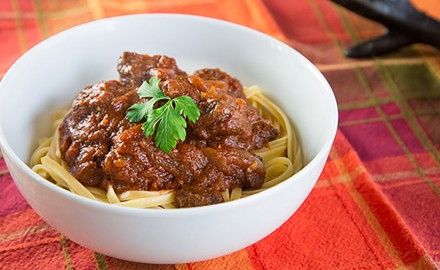 For how easy this recipe is to make, you'll be amazed by how flavorful this elk venison Hungarian goulash tastes.