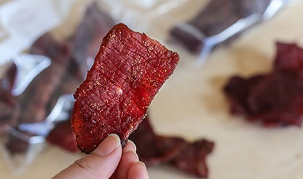 Sweet & Smoky Venison Jerky Recipe