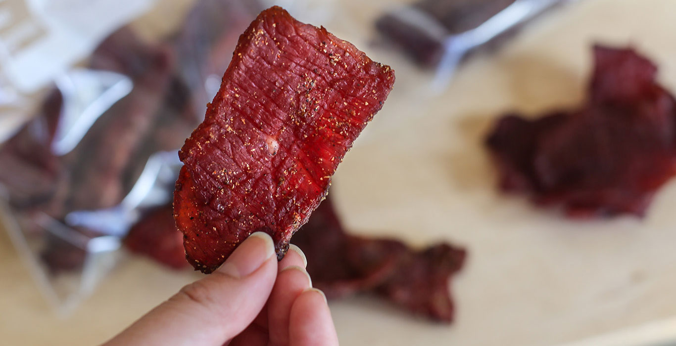 Sweet & Smoky Venison Jerky Recipe