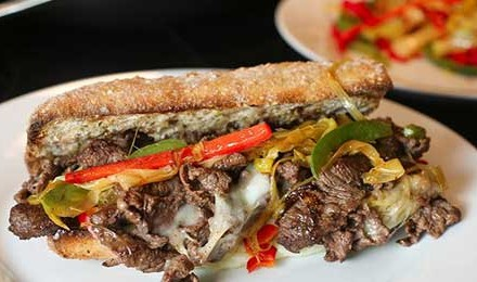 Venison Cheesesteak Sandwich Recipe