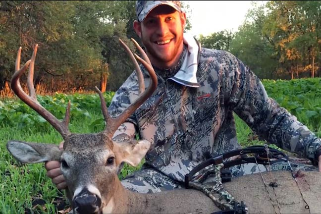 Eagles' Quarterback Carson Wentz: First Bow Buck
