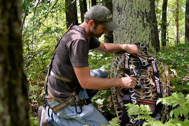 Preparing for bear hunting