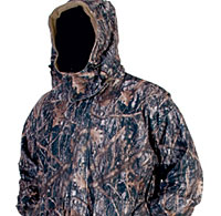 TrueTimber's Bomber Jacket, with Amerisuede exterior, is soft, silent, waterproof