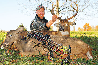 A dream Hawkeye State hunt yields a satisfying whitetail double.