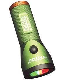 By Staff Report    Primos' Mini Bloodhunter Flashlights have a special filter that