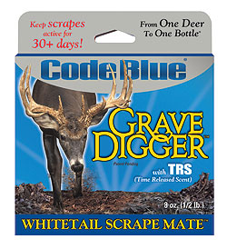By Staff Report    New Grave Digger from Code Blue is high quality soil impregnated