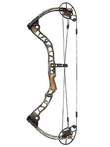 Hitting the chrono at 353 and 360 fps IBO, Mathews' new dual-cam McPherson Series