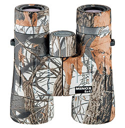 By Kathy Etling    Minox Snow Hunter Binoculars, available in 8x42mm and 10x42mm