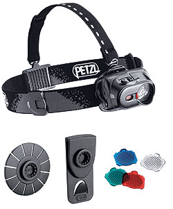 By Kathy Etling    Pioneers in the head lamp division, Petzl's Tactikka XP Adapt is