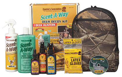 Hunter's Specialties Scent-A-Way Deer Decoy Kit