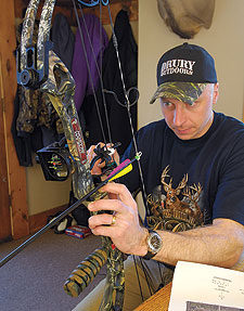 Following Bill Winke's step-by-step process for setting up and tuning a bow.