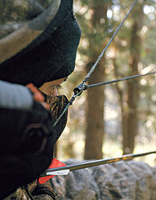 By Randy Ulmer    Shooting a bow that has a peep sight installed is much like