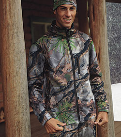 By Staff Report    Sporting Wayne Carlton's VanishHybrid camo, SportHill is