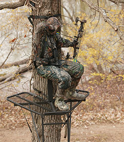 By Staff Report    Unique to the Ultra-View Ladderstand from Big Game Treestands is
