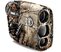 Bushnell laser rangefinder is designed specifically for bowhunters.