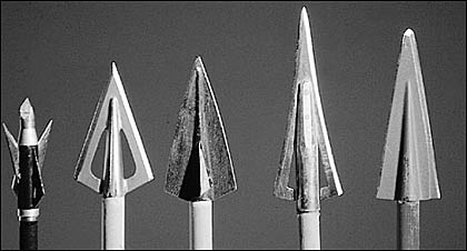 What's changed in 5,000 years of traditional broadhead design? Remarkably little.