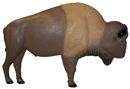 Rinehart's Buffalo Target mimics the size, anatomy and appearance of a 1,000-pound buffalo and