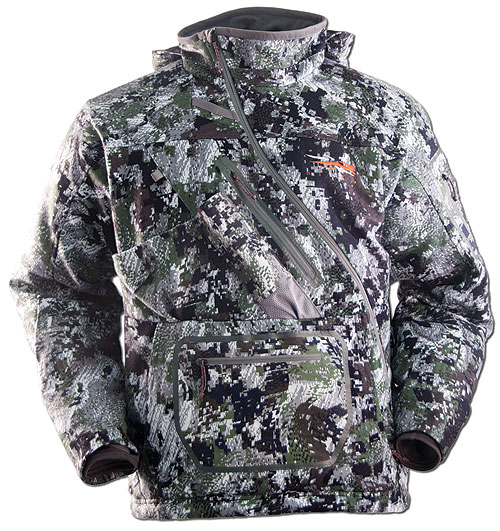 Sitka Gear's new Fanatic jacket was designed with whitetail freaks in mind. A key design feature is