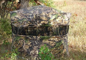 Tips For Bowhunting From A Ground Blind