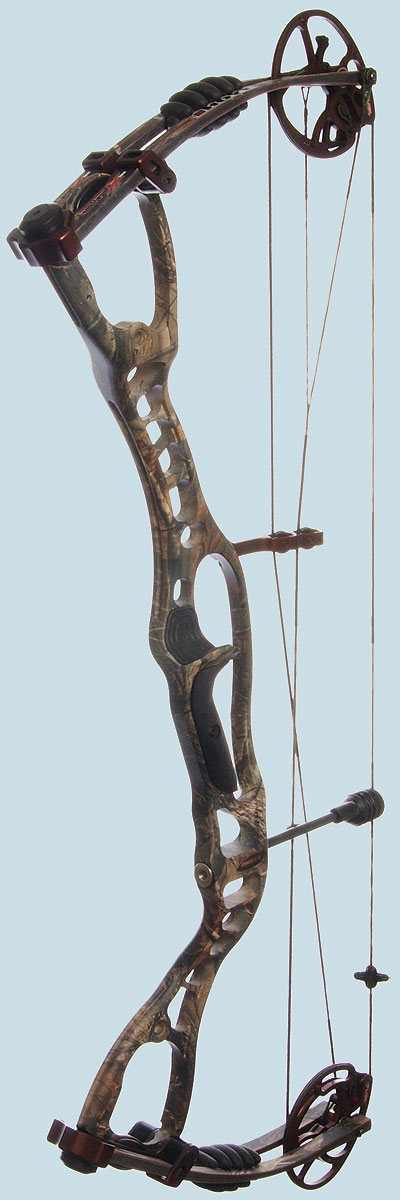 Hoyt has been in the headlines a lot lately because of its new, carbon-riser bows, which have