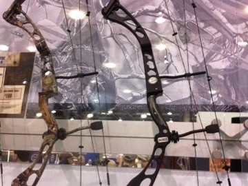 Elite Archery is showing off its new bow, the Answer, at this week's ATA Show.  I just drew the