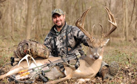Bowhunter Will Rives took this net 172 4/8 whitetail in December 2010 in Jefferson County, Miss. It is the current Mississippi archery typical record and the first-ever net Boone and Crockett buck to be taken by a Magnolia State bowhunter.