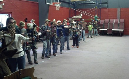 The weekend event drew many archers from the Juniata County area.
