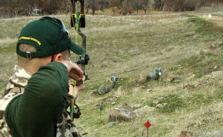 A 3-D Archery Competition is great summer practice, but come fall, remember the difference between shots that score and shots that kill.