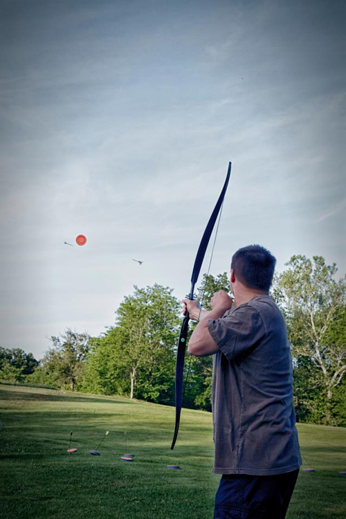 Aerial Target Shooting: Addictive Archery Fun!
