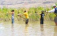 Bowfishing can be fun for the whole family!