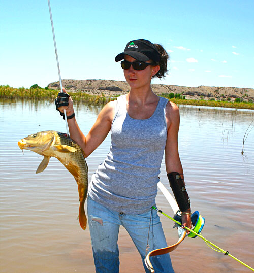 Cool down with bowfishing bowhunting for Bow fishing reel