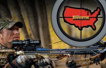 Top Crossbow States for 2013