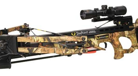 The name TenPoint is synonymous with crossbow hunting, and the 2013 Stealth SS is loaded from stock