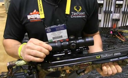 TenPoint was on hand at the 2014 ATA Show in Nashville, Tenn., for the release of its newest