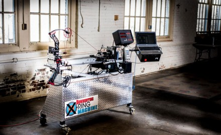 The all-new Petersen's Bowhunting X-Ring Machine is a custom-built, one-of-a-kind, automated